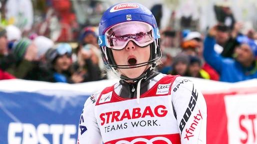 Mikaela Shiffrin établit un record en Coupe du monde