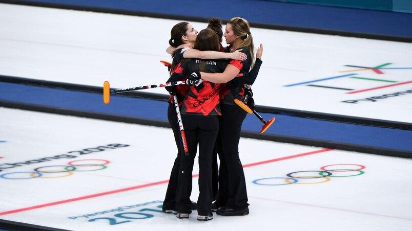Curling: les Canadiennes triomphent sur les Suisses