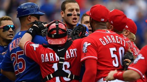Les Cubs et les Reds divisent le programme double