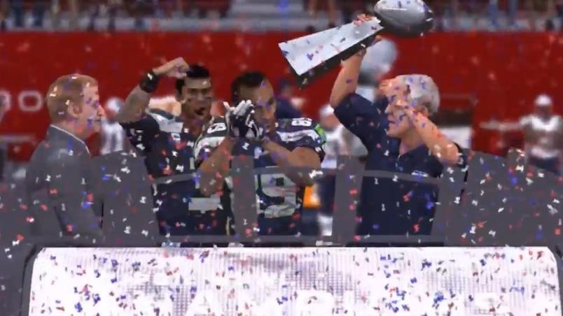 Super Bowl : le «vrai» dénouement selon EA Sports