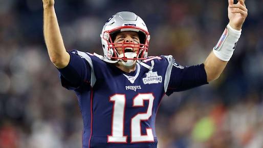 Les Patriots toujours dominants