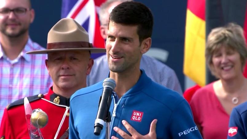 Djokovic propage l'amour