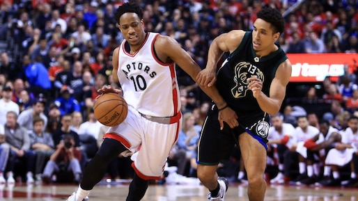 Milwaukee Bucks v Toronto Raptors - Game One