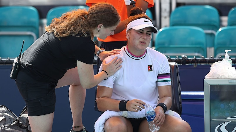 Bianca Andreescu plonge dans l'incertitude