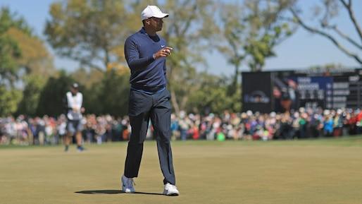 Une ronde de 68 pour Tiger Woods