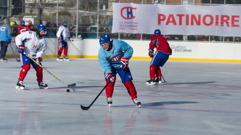 Une nouvelle patinoire Bleu-Blanc-Bouge
