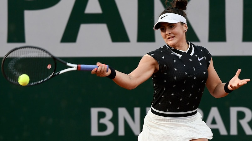 Bianca Andreescu sauve l'honneur