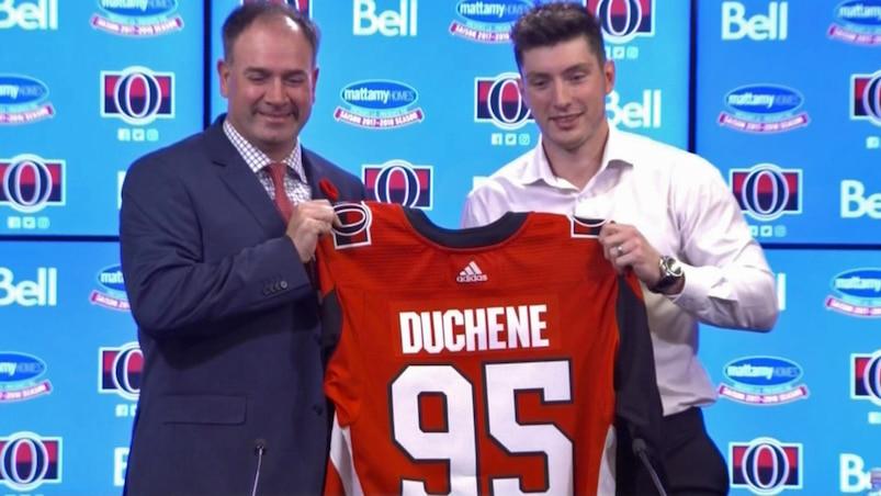 Matt Duchene veut gagner