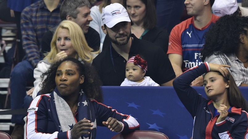 SPO-TEN-CEL-2018-FED-CUP-FIRST-ROUND---TEAM-USA-V-THE-NETHERLAND