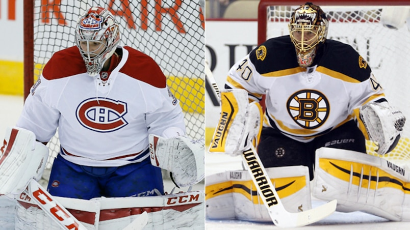 Carey Price et Tuukka Rask