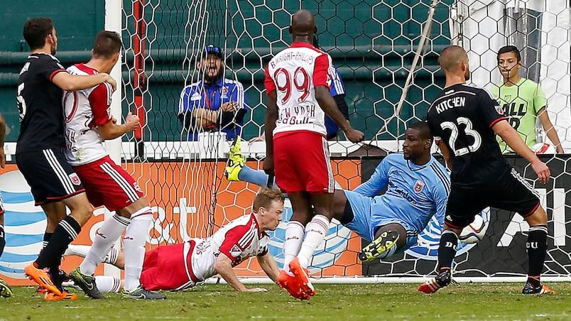 Dax McCarty a marqué le seul but du match.