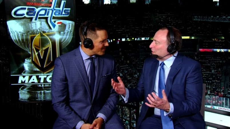 «Le hockey de la Ligue n'a jamais été plus excitant» - Gary Bettman