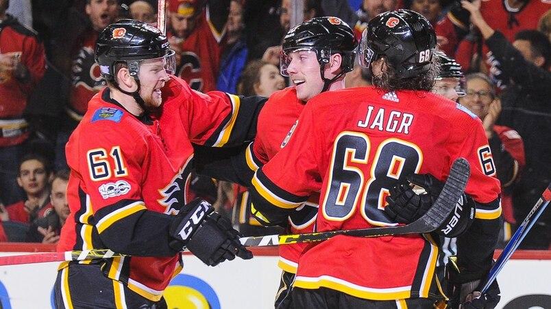 St Louis Blues v Calgary Flames