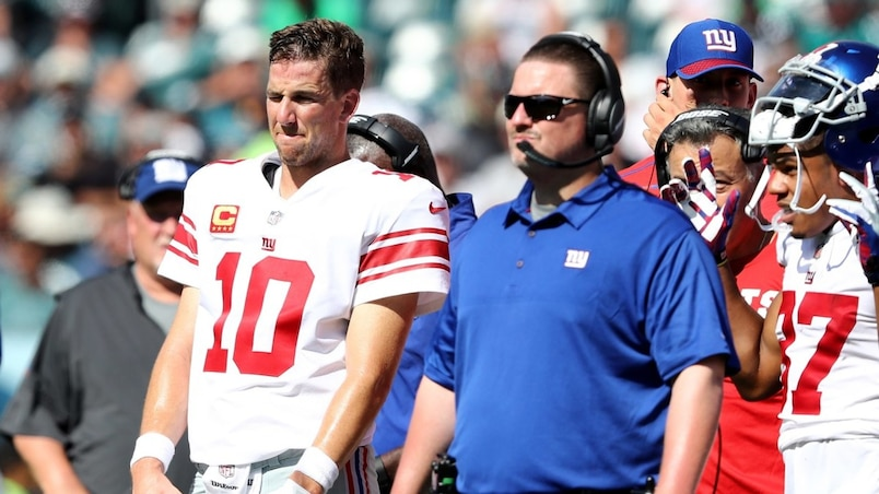 FILE: Giants Fire Coach Ben McAdoo, GM Jerry Reese