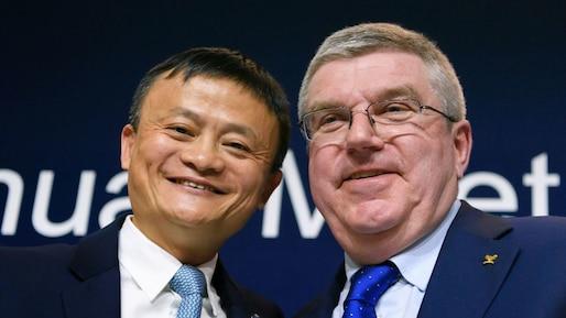 Alibaba devient parraineur olympique
