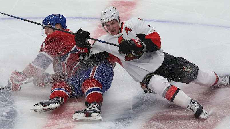 Ottawa Senators vs Montreal Canadians