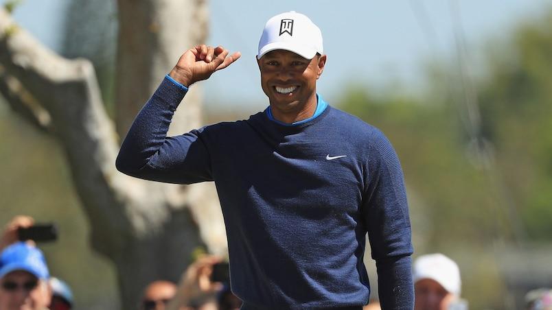 Tiger Woods garde son excellent rythme