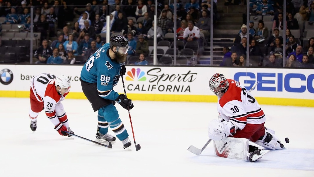 SPO-HKO-HKN-CAROLINA-HURRICANES-V-SAN-JOSE-SHARKS