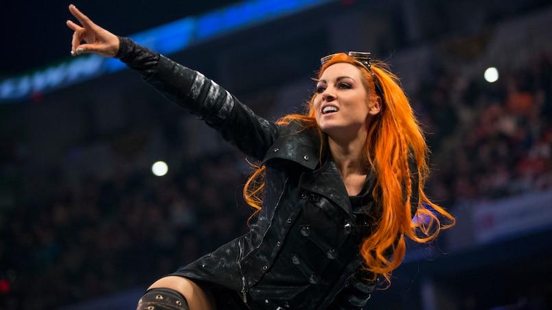 Un autre rendez-vous historique pour Becky Lynch