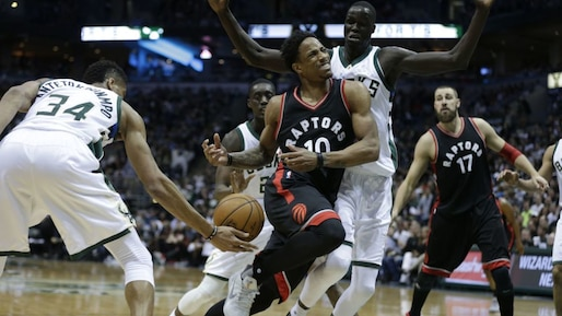 Toronto Raptors v Milwaukee Bucks - Game Four