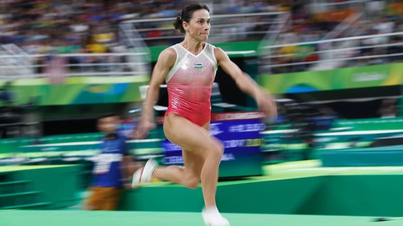 Une gymnaste dispute ses septièmes Jeux olympiques!