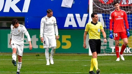Le Real rechute