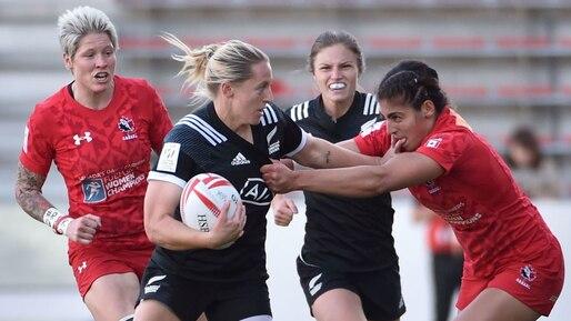 Rugby: les Canadiennes décorées d'argent