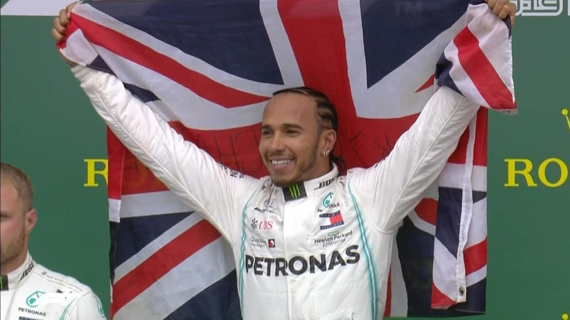 La victoire pour Lewis Hamilton, une 13e place pour Lance Stroll