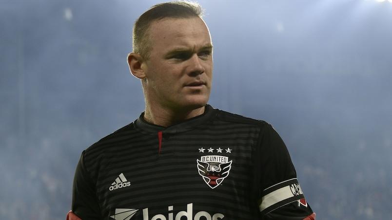 Wayne Rooney arrêté à l'aéroport