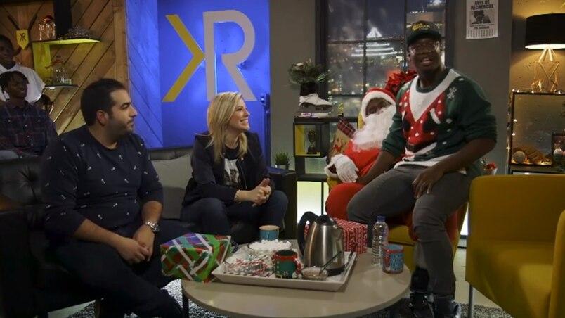 Le père Noël le plus relax de tous les temps débarque au Kevin Raphael Show