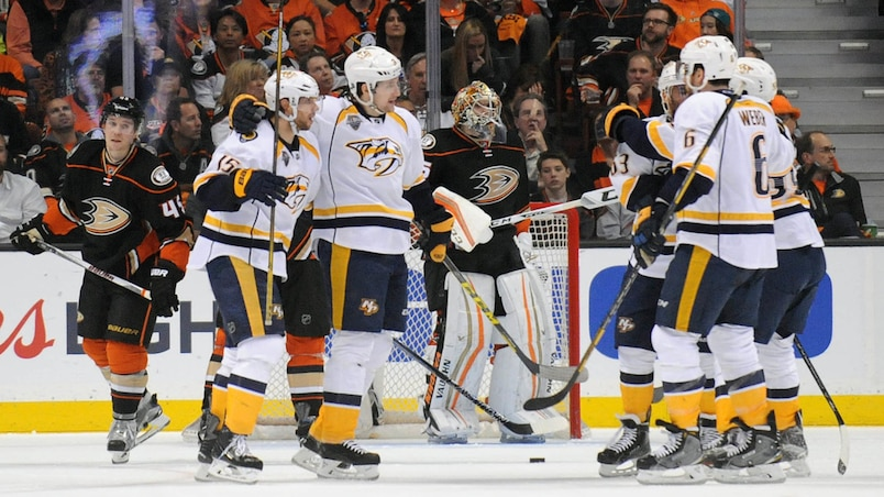 NHL: Stanley Cup Playoffs-Nashville Predators at Anaheim Ducks