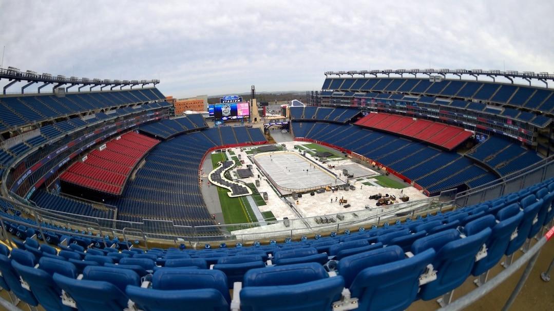 NHL: Winter Classic-Gillette Stadium Views