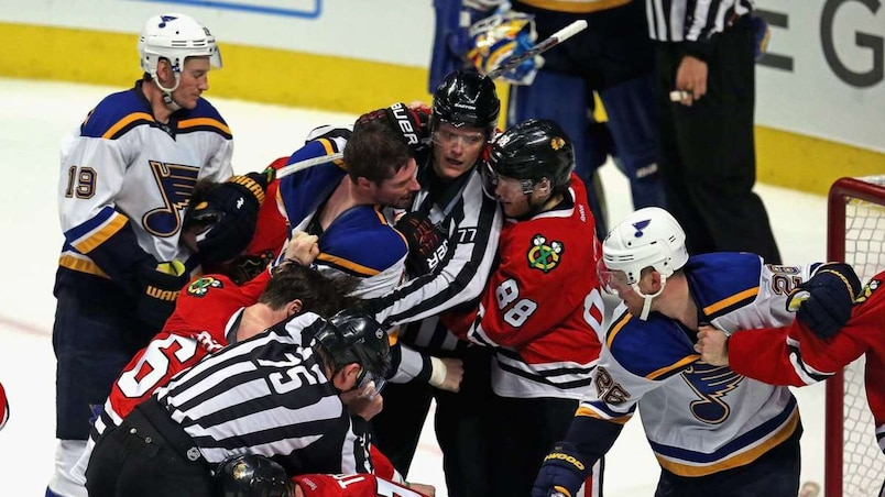 St. Louis Blues v Chicago Blackhawks - Game Four