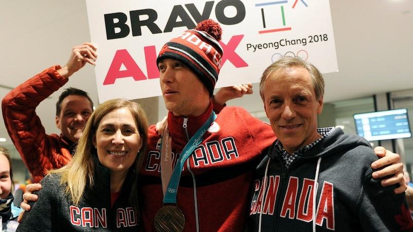 Un accueil olympique à Québec
