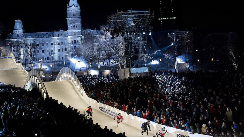 Labeaume veut ramener le Red Bull Crashed Ice à Québec