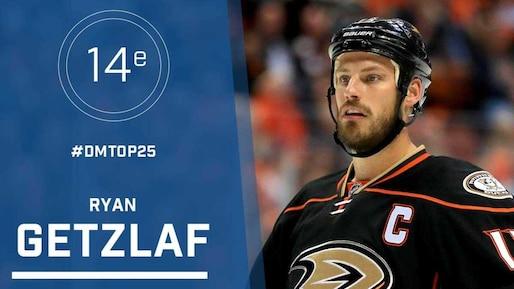 Le top 25 de la LNH: Ryan Getzlaf, #14