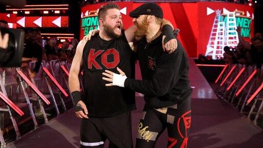 Cette semaine dans l'univers de la WWE: Owens marque sur une passe de Zayn!