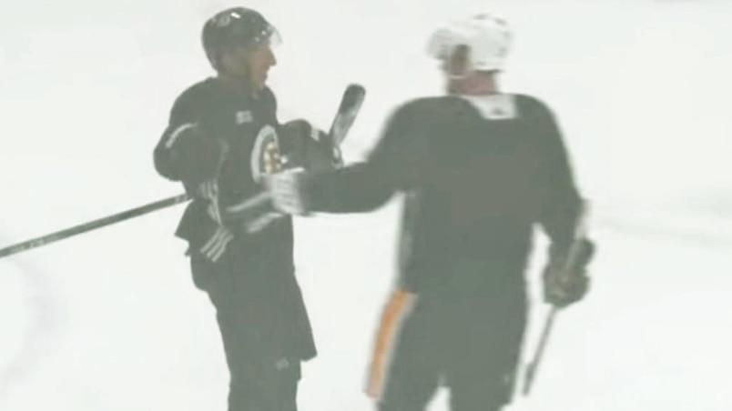 Crosby, Marchand et MacKinnon au boulot en Nouvelle-Écosse