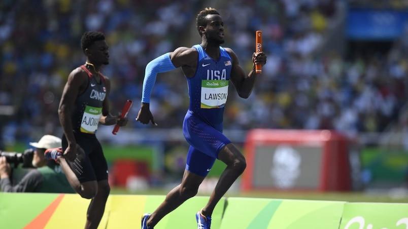 Le Canada sera de la finale au relais 4 x 100 mètres