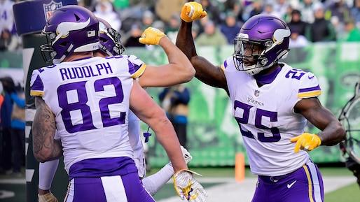 Les Vikings signent un troisième gain consécutif