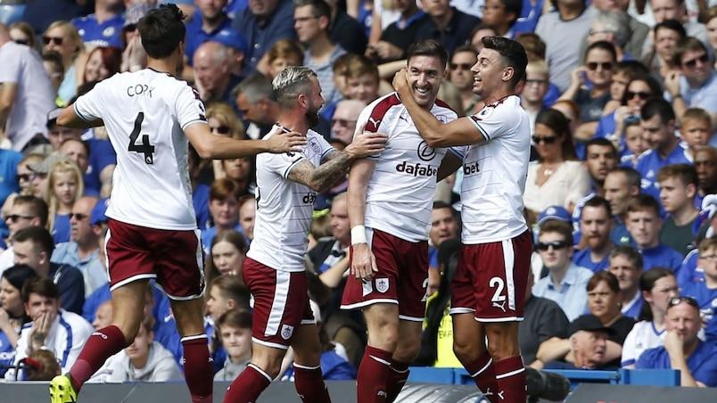 Chelsea renversé par Burnley