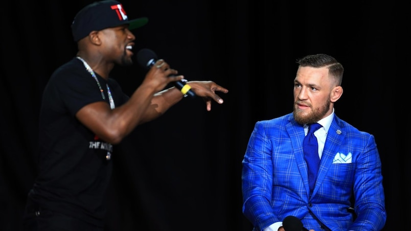 Floyd Mayweather Jr. v Conor McGregor World Press Tour - Toronto