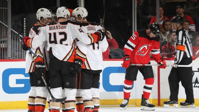 Anaheim Ducks v New Jersey Devils