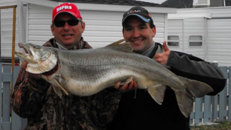 Lac Témiscouata : truite d'une grosseur record