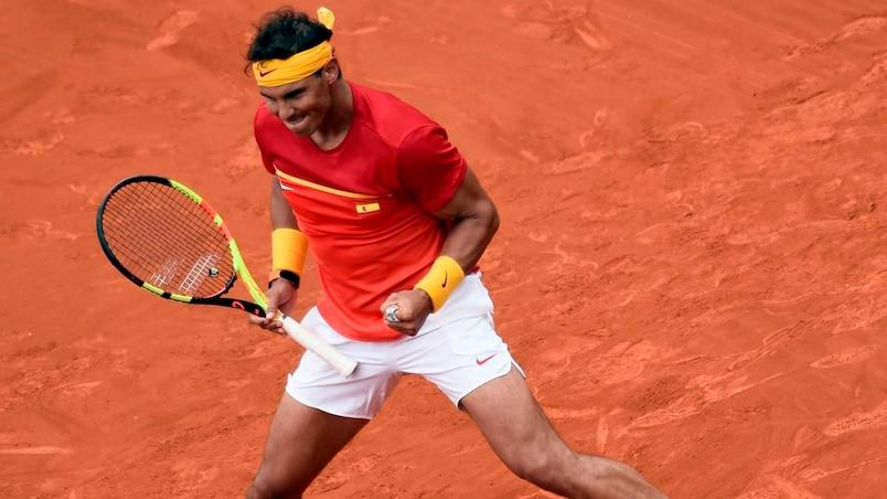 Coupe Davis: retour gagnant pour Rafael Nadal
