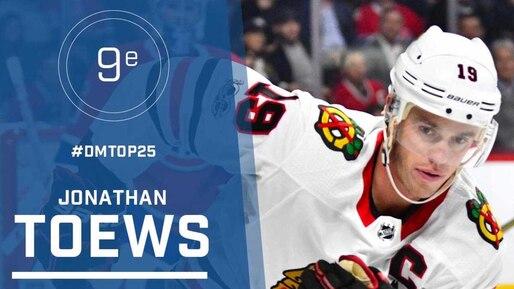Le top 25 de la LNH: Jonathan Toews, #9