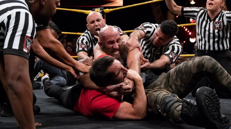 Cette semaine dans l'univers de la WWE: Gargano c. Ciampa, la meilleure rivalité à la WWE