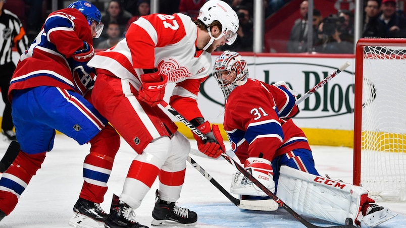 Red Wings c. Canadiens