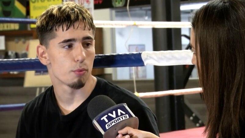 La boxe, une source de vie pour Avery Martin-Duval