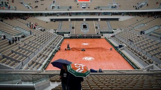 Roland-Garros: la pluie gâche tout